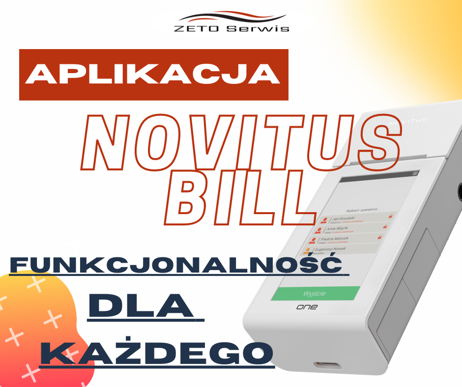 aplikacja Novitus BILL